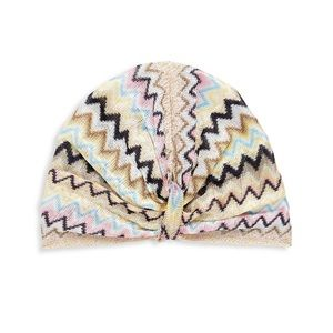 NEW NWT Auth Missoni Chevron Print Turban